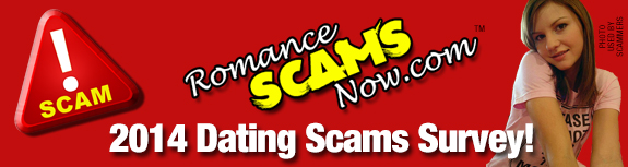 2014 DATING SCAMS SURVEY BANNER