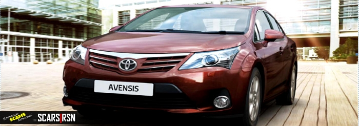 Toyota Avensis not in the USA