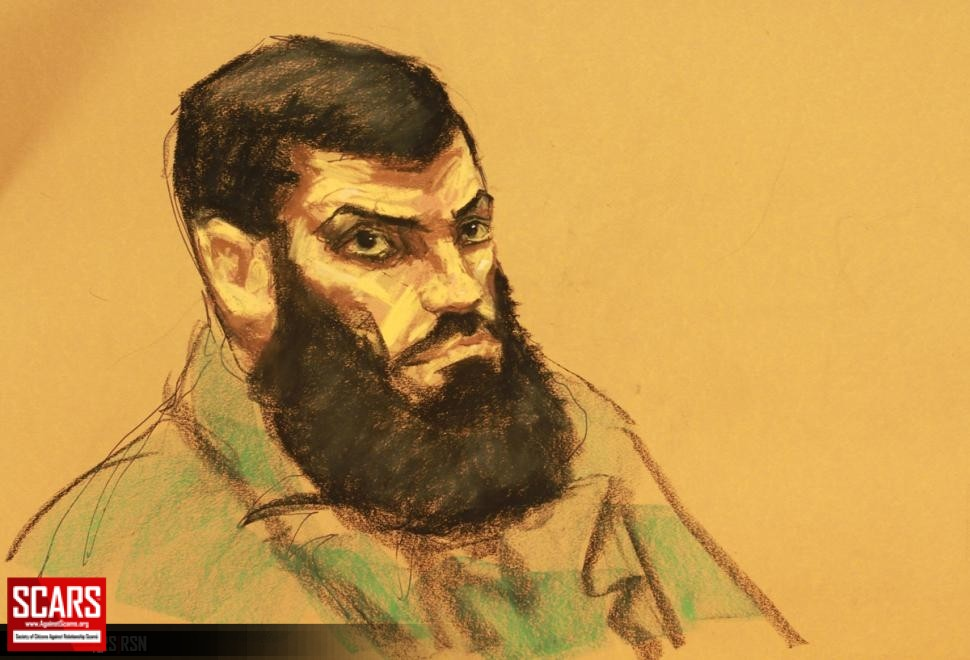 Sketch by JANE ROSENBERG/FOR NEW YORK DAILY NEWS - A court sketch of Nasser, who could face life in prison if he is convicted of providing material support to a terrorist organization and conspiring to use a weapon of mass destruction.