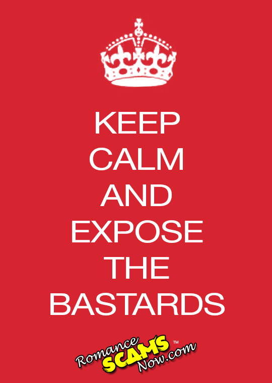 Keep Calm And Expose The Bastards!