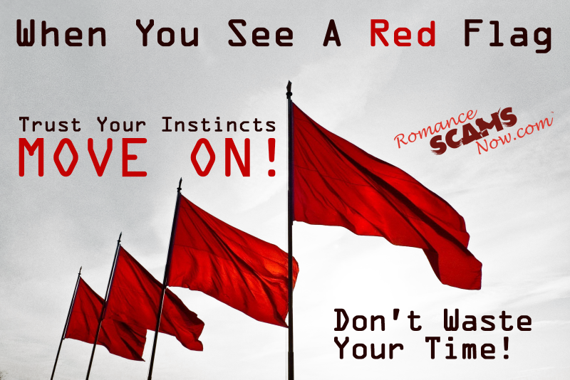 Look For Red Flags