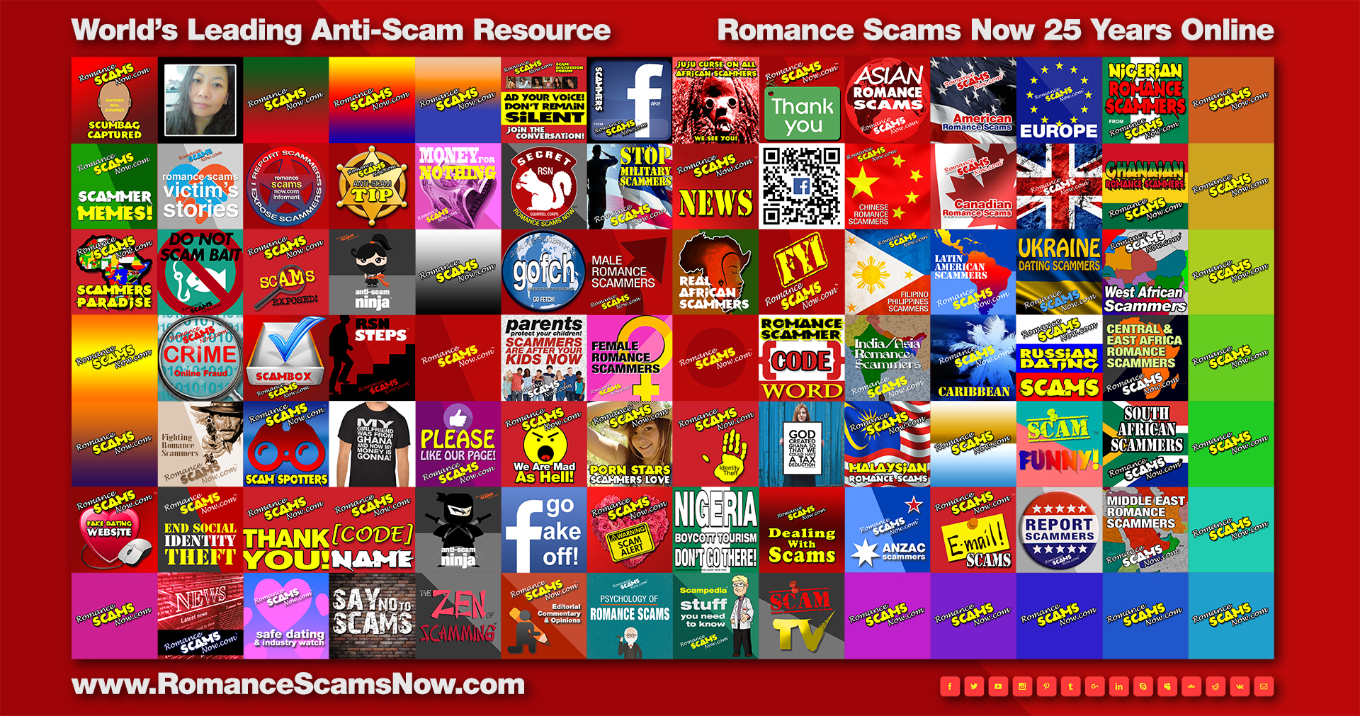 The Romance Scams Now™ 25 years online poster=Romance-Scams-Now-Poster-2016 [Right Click To Download] Copyright © 2016