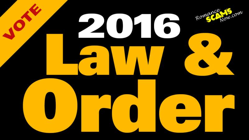 Vote Law & Order 2016
