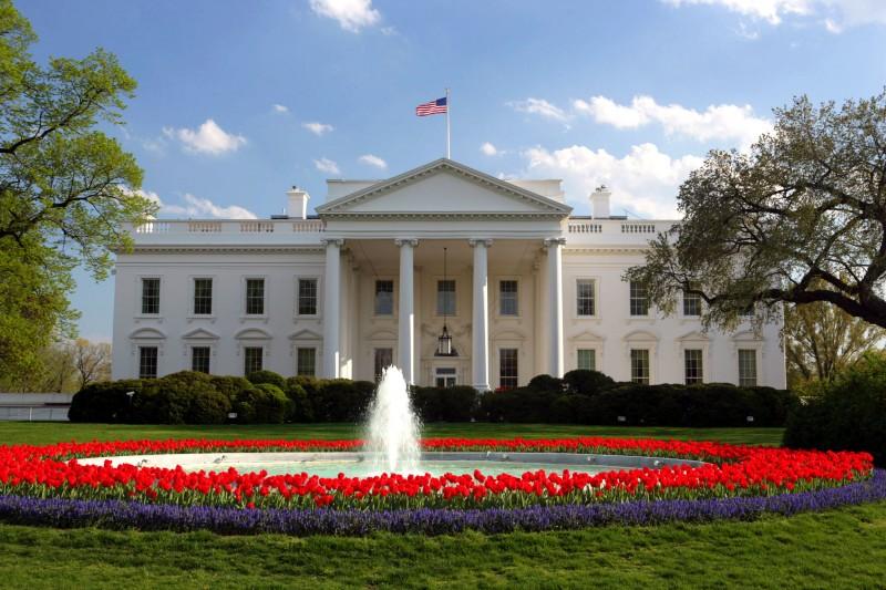 President Donal Trump's White House