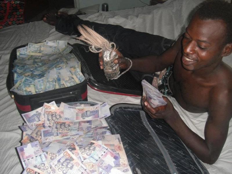 YAHOO BOYS AND THEIR MONEY