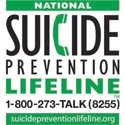 Lifeline 1-800-273-8255