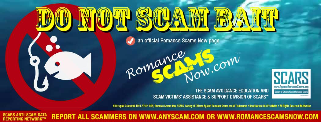 Don Not Scam Bait