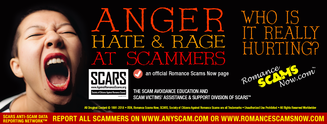 Anger & Aggression Against Scammers